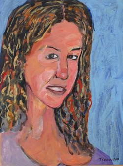 Alexandra Asimaki, acrylic on paper mounted on canvas, 40x60cm, 2011(1)