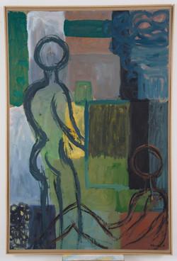 αναμονή,1994,110x160cm