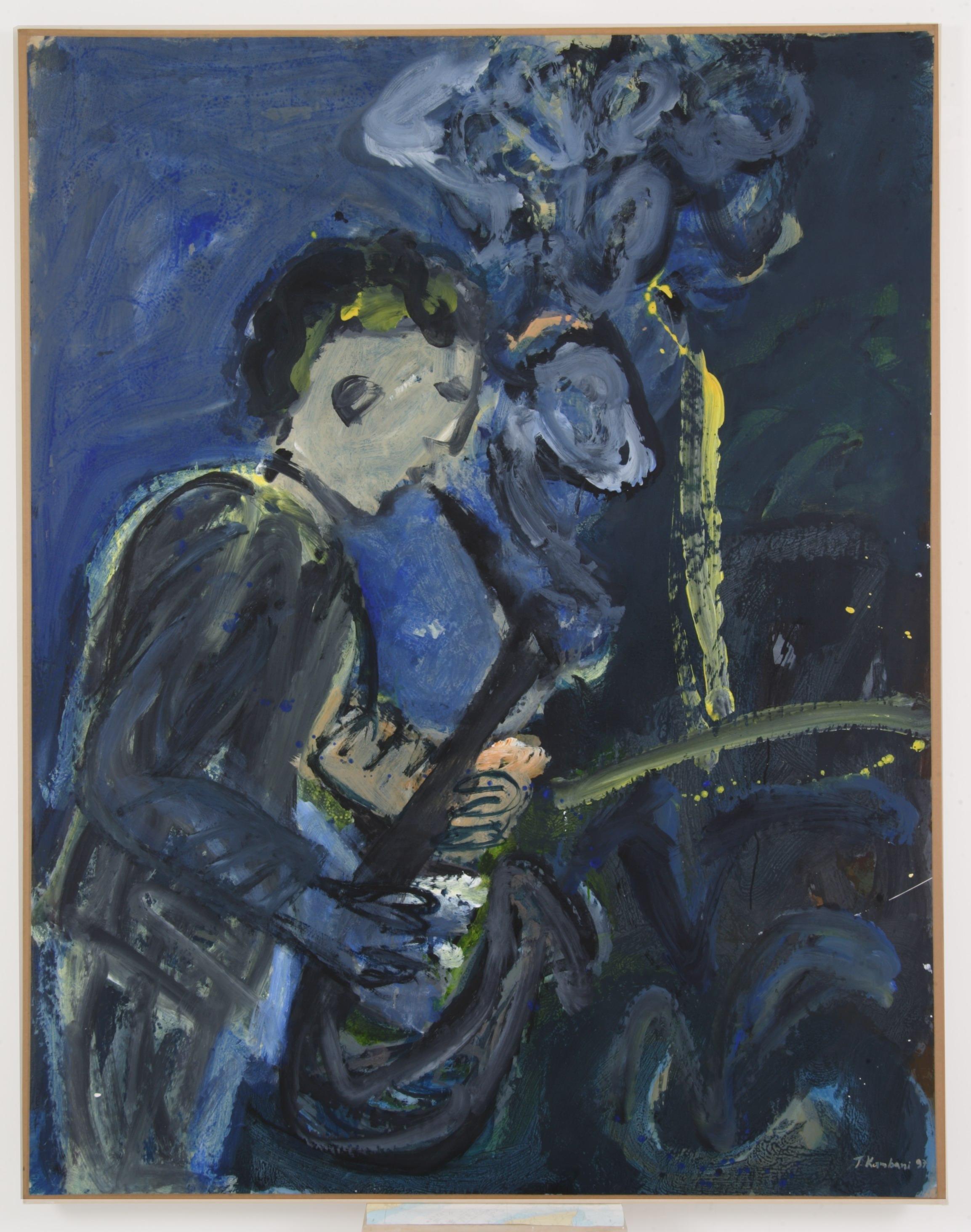 καλλιτέχνης,1997,160x180cm