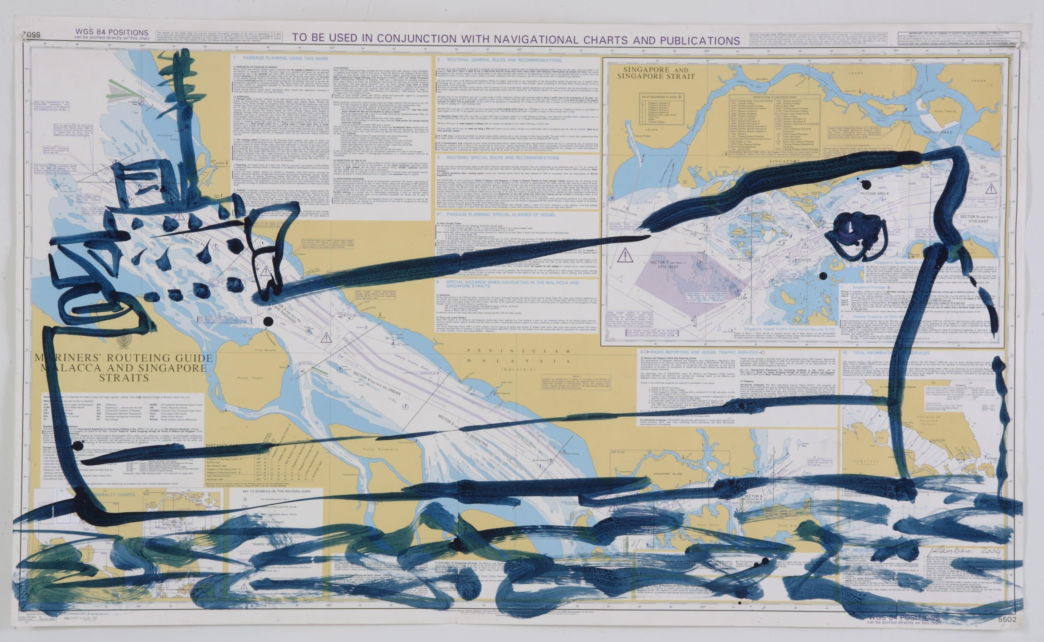 bateau No10, 2007, 110x71cm