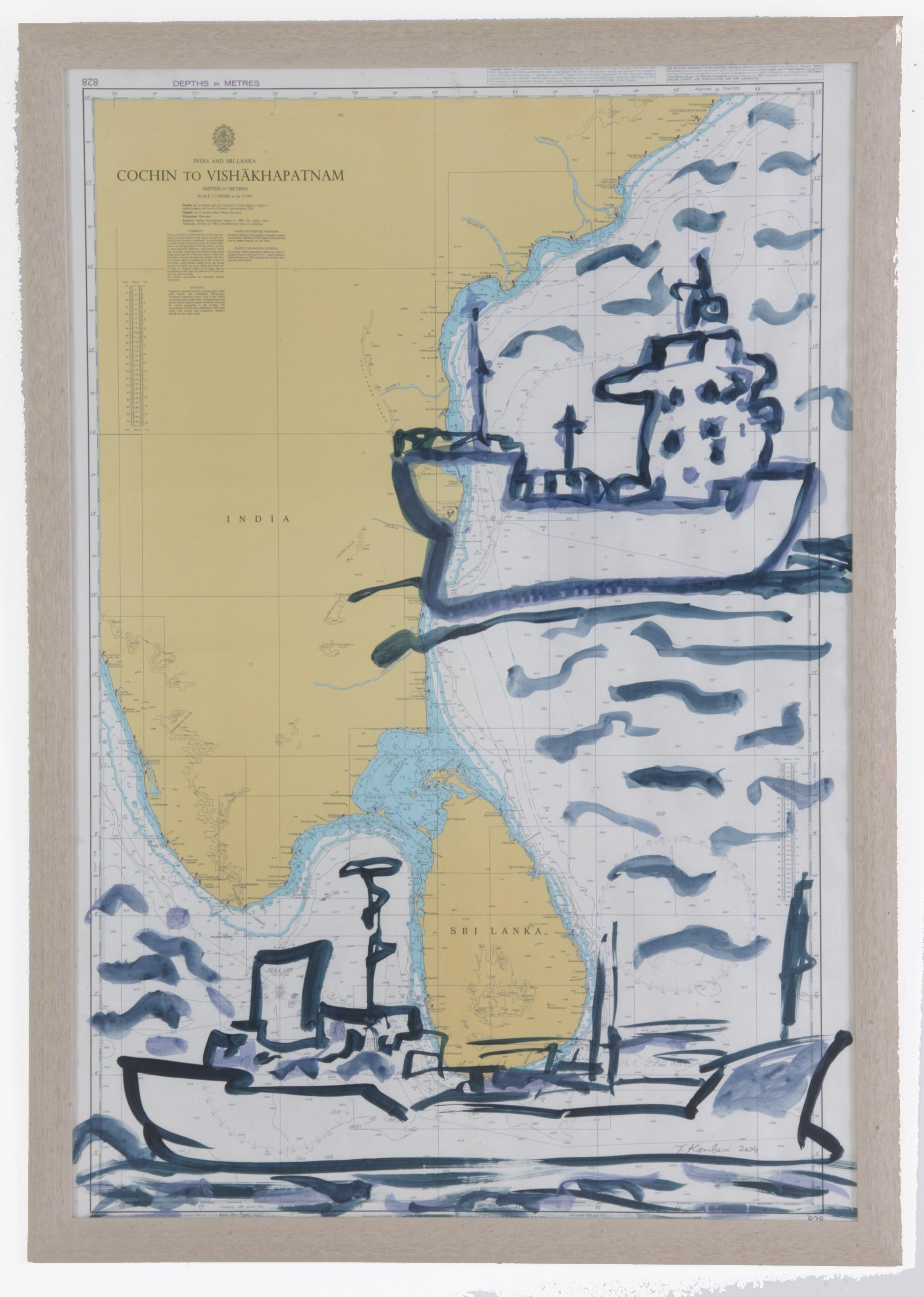 bateau No4, 2005, 103x71cm