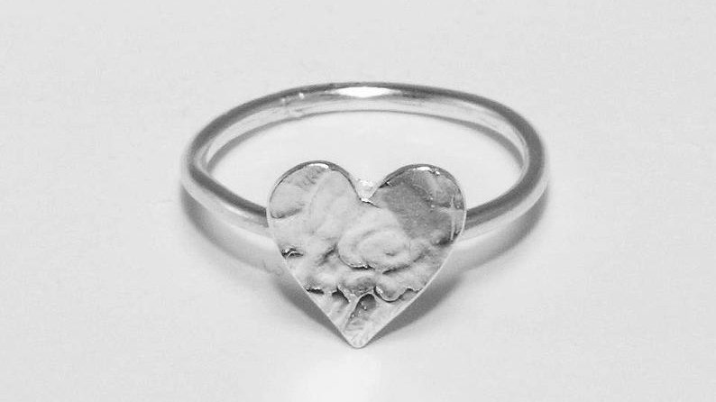Baby Heart Stack Ring
