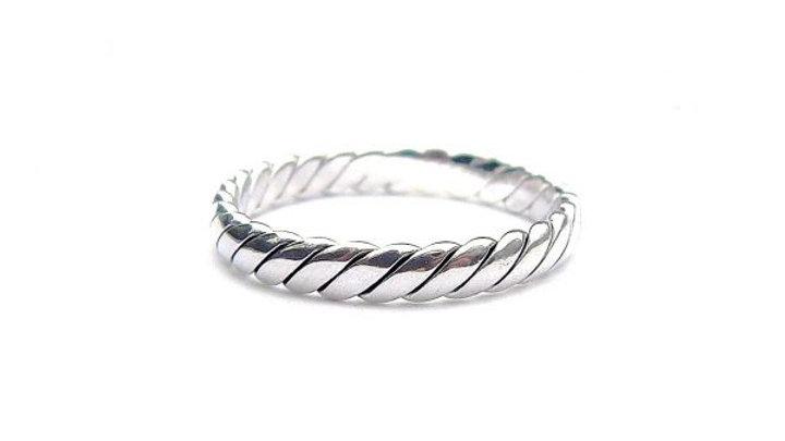 Woven Twist Ring