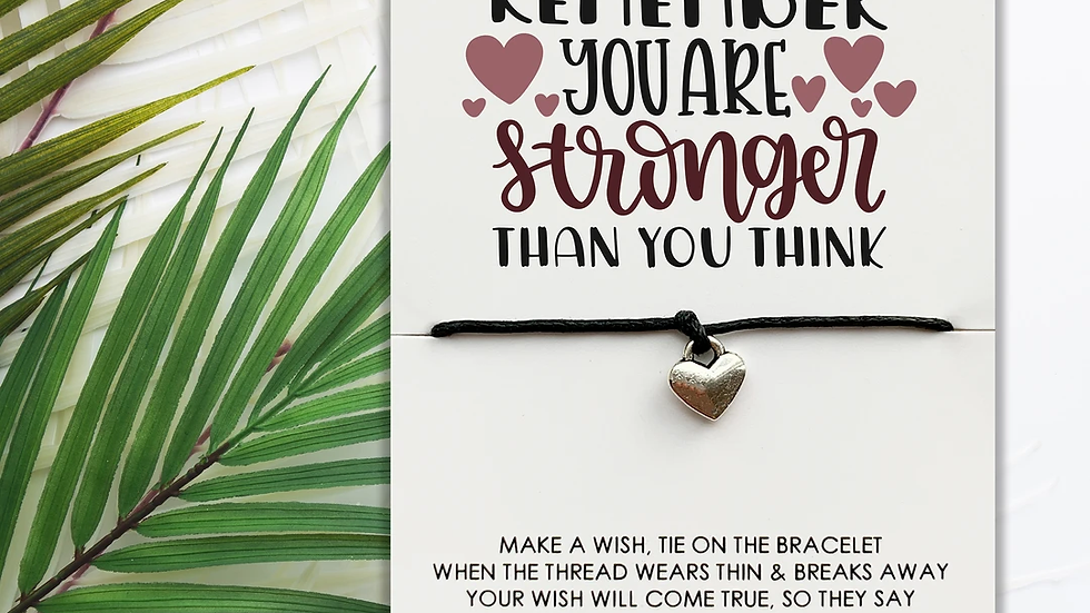 Wishstrings - You're Stronger Than You Think