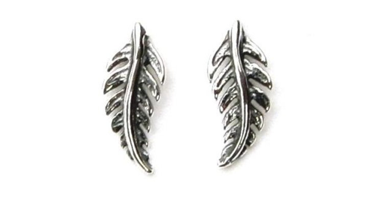 Little Feather Studs