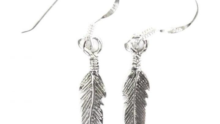 Feather Hook Earrings