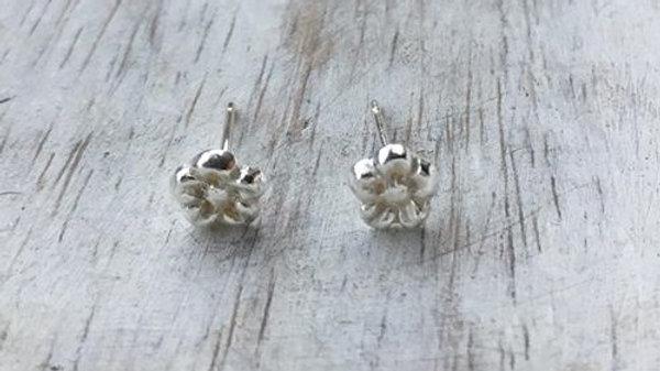Flower Micro Stud Earrings