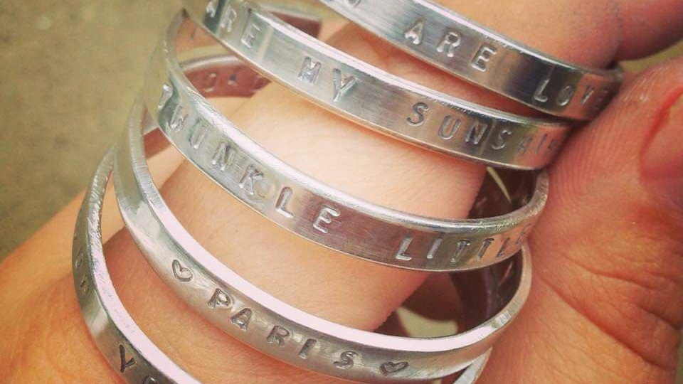 Childrens Personalised Cuff