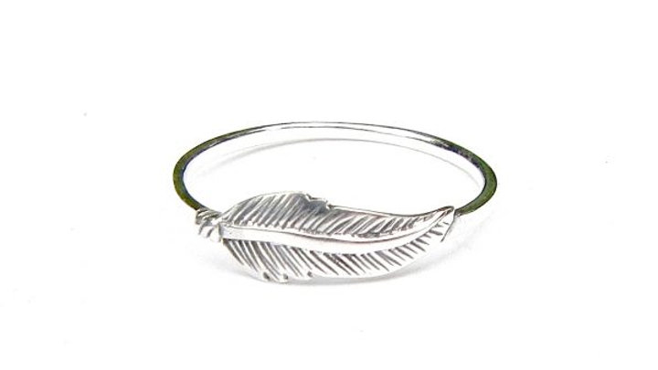 Feather Stack Ring