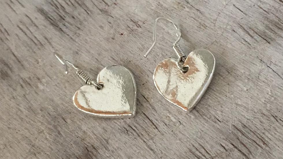 Love Heart Ear Hooks