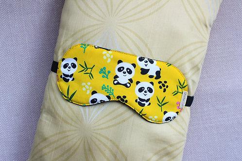 Yellow Panda Eye Mask