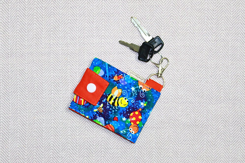 Lively Key Chain Wallet