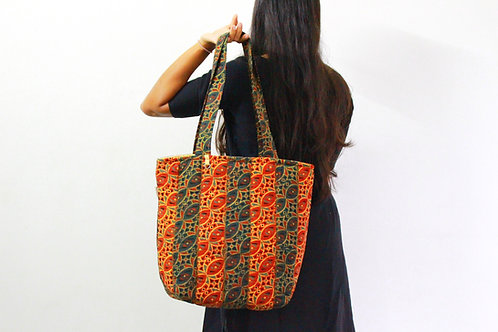 Quilted Jhola