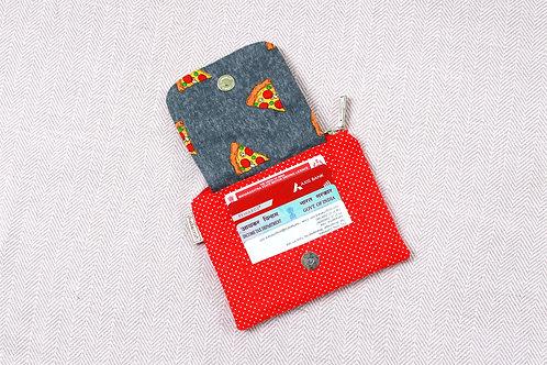 Pizza Mini Wallet