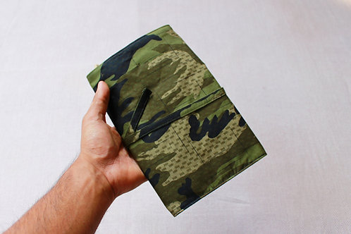Camouflage Artist's Pouch