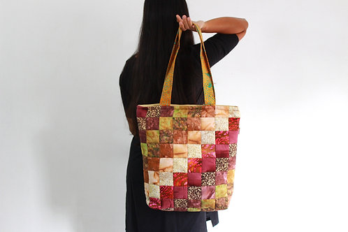 Bali Quilted Jhola