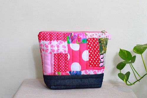 Quilted Oversized Pouch