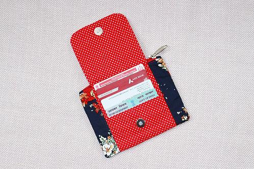 Floral Mini Wallet