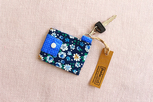 Floral Key Chain Wallet