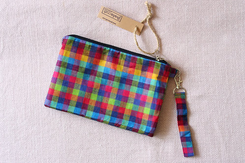 Madras Chequered Magic Pouch