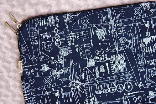 """13"""" Blueprint Laptop Sleeve"""