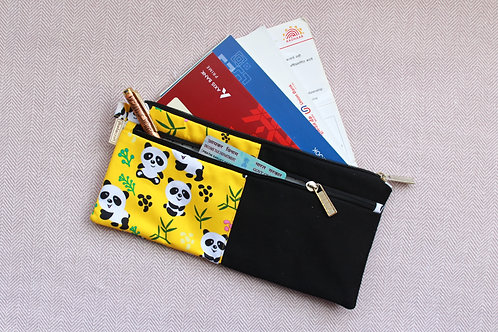 Panda Document Pouch