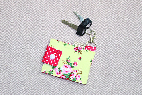 Blossom Keychain Wallet
