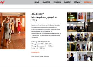 """Die Besten"" Meisterprüfungsprojekte 2015"