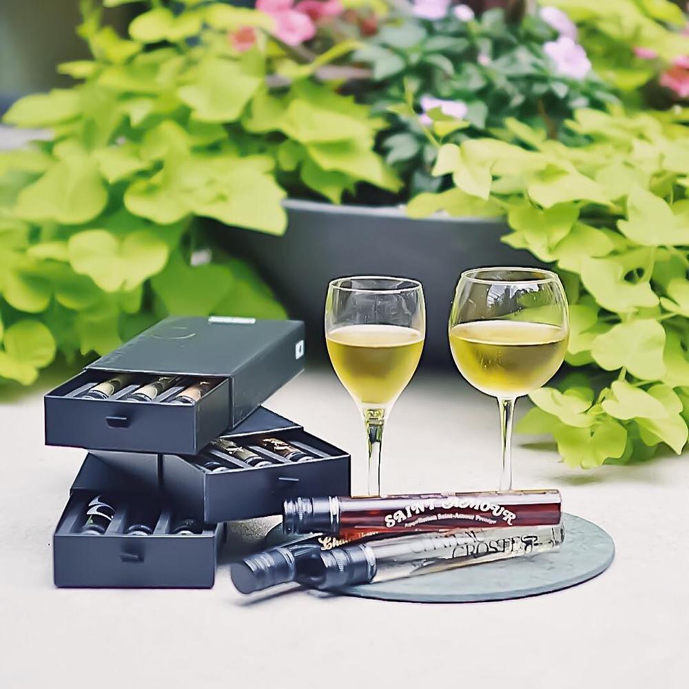 Vinebox, Şarap tadım numunesi