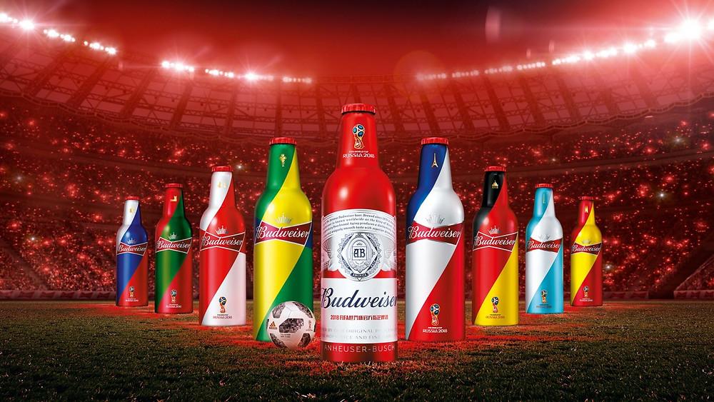 """Budweiser """"Light Up the FIFA World Cup"""""""