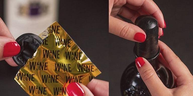 Şarap Prezervatifi - Wine Condom