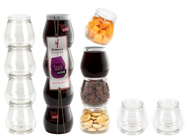 Kadeh Şarap, Yaratıcı  Şarap Ambalajı, Red Blend