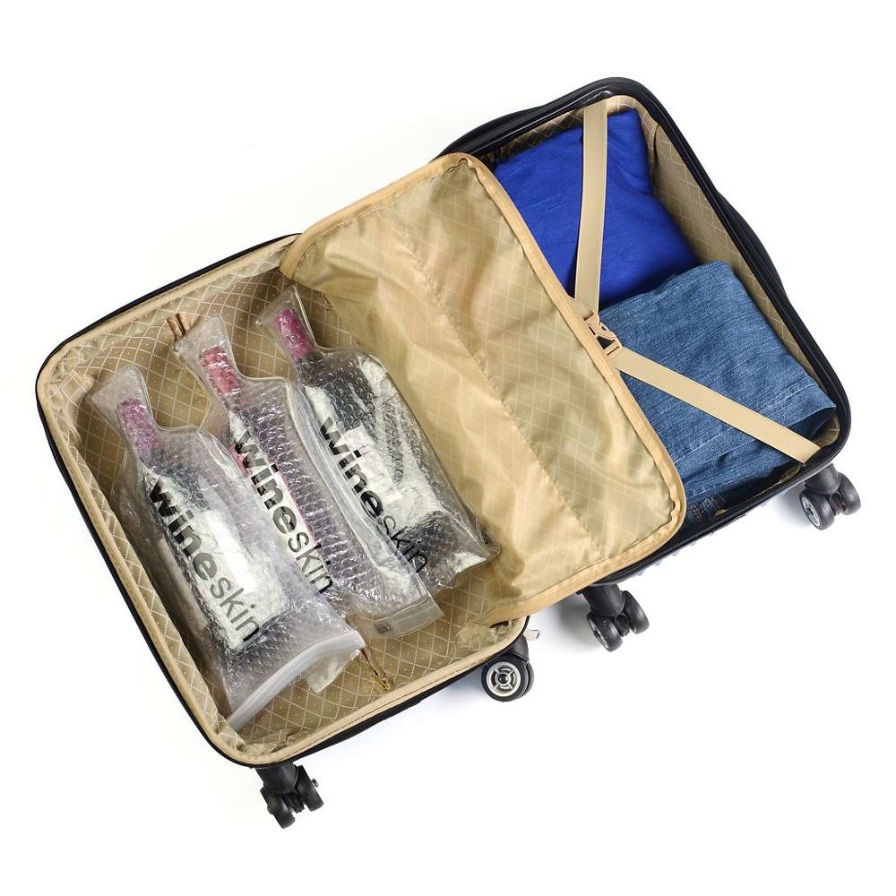 Wineskin - Şarap seyahat çantası