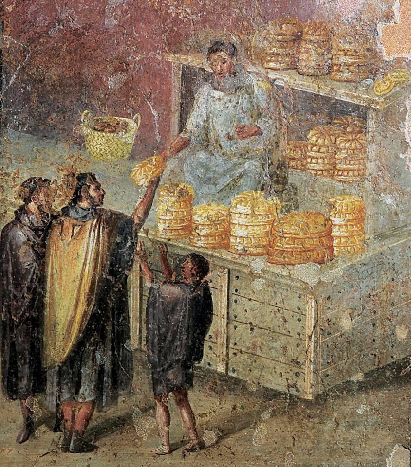 Seyyar yemek, Antik Roma