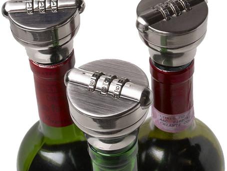 Şarap ve Likör Şişesi Kilidi