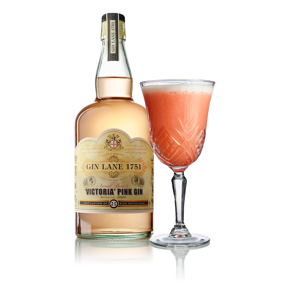 Gin Lane 1751 - Victoria Pink Gin - Pembe cin