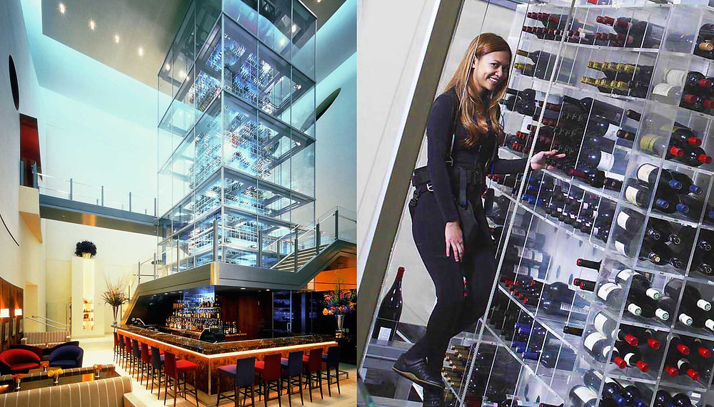 "Aureole Wine Lounge"" Mandalay Bay Resort and Casino Otel, Las Vegas"