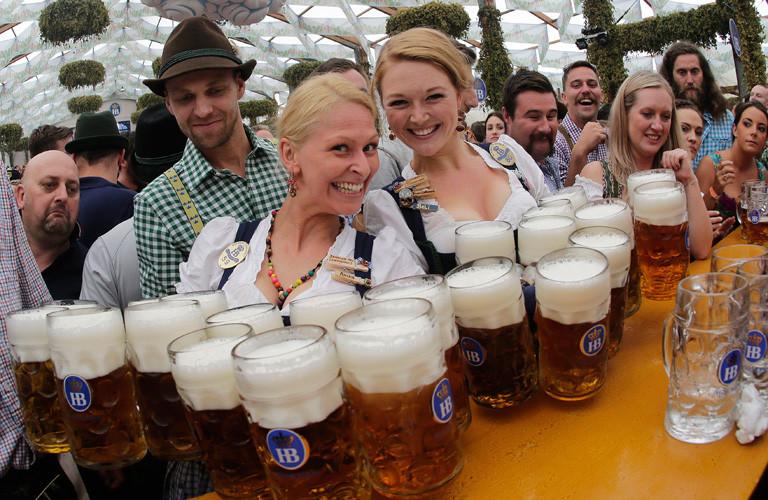 Münih, 2017 oktoberfest, Almanya, bira, beer