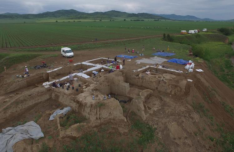 arkeoloji, kazı alanı, Gürcistan, şarap