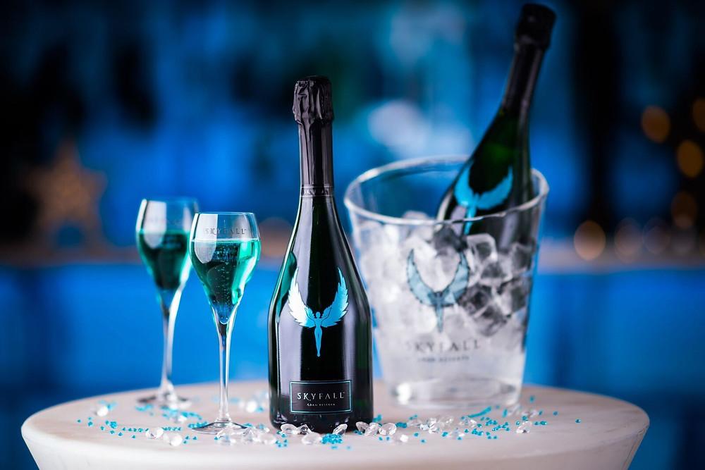 Skyfall Gran Reserva Blue Sparkling Wine