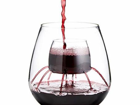Şarabı Havalandıran Kadeh
