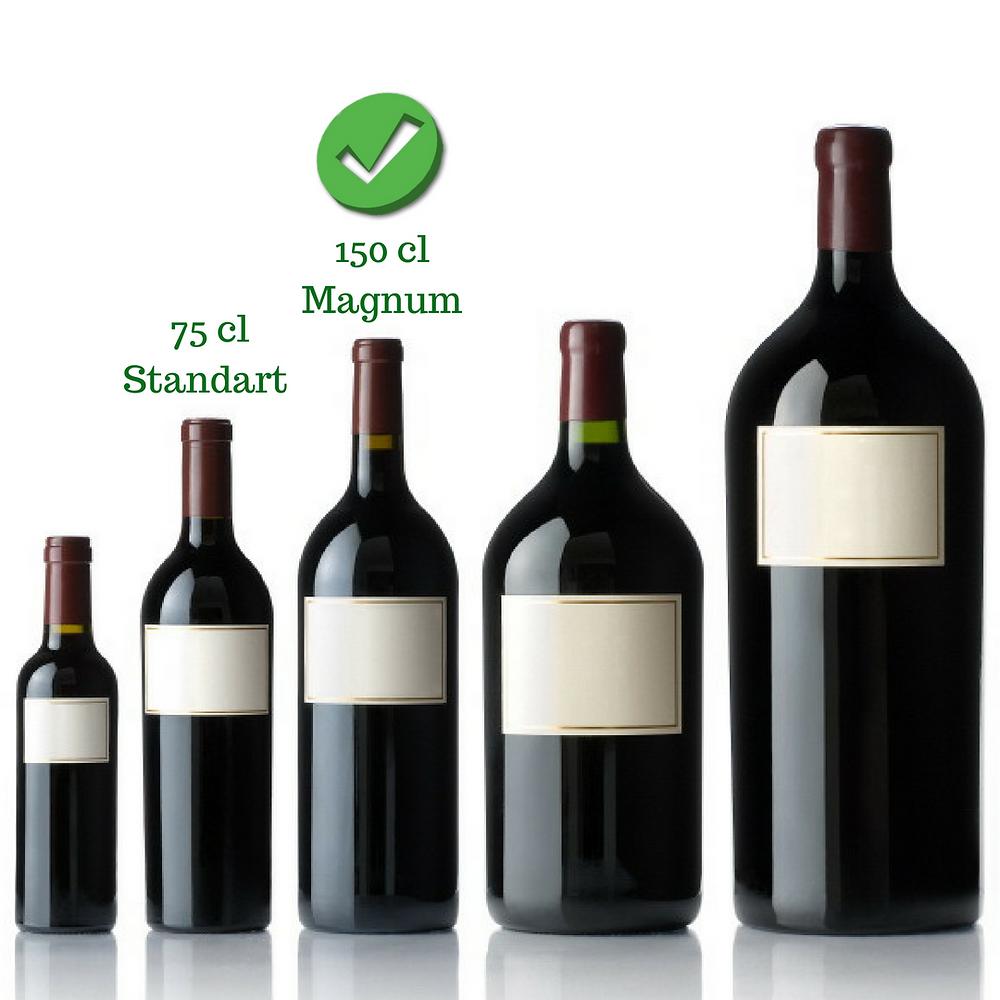 Magnum Şarap Şişesi
