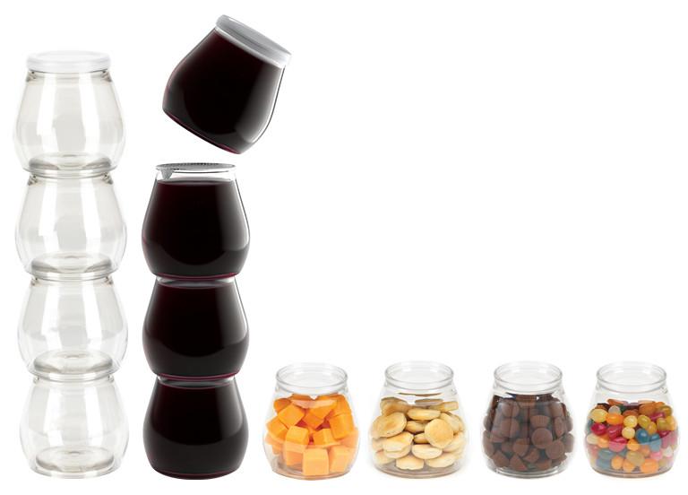    Kadeh Şarap, Yaratıcı  Şarap Ambalajı, Kırmızı Blend