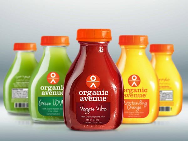 Dünyanın en pahalı meyve suyu, Organik Avenue