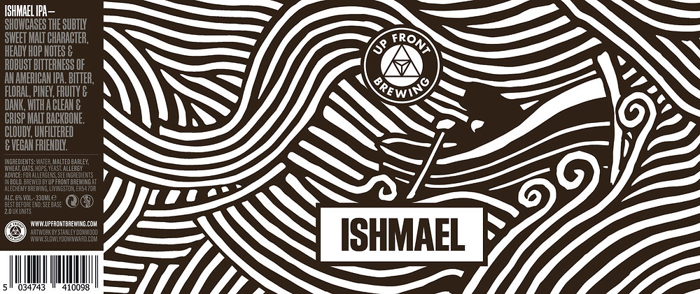 Up Front Brewing Beer -ISHMAEL