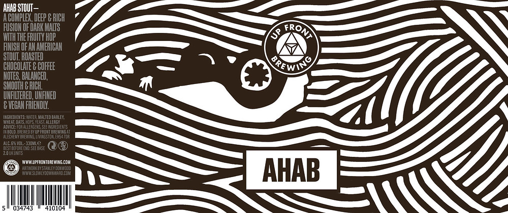 Up Front Brewing Beer -AHAB