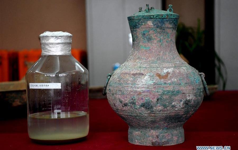 Çin'de 2000 yıllık şarap