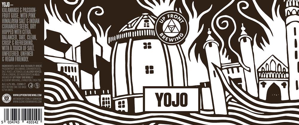 Up Front Brewing Beer - YOJO