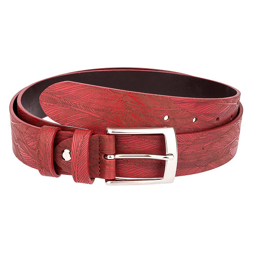 Red Texture design belt