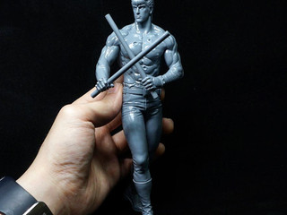 "[WIP] Concept Statue series, "" 北斗の拳 - Kenshiro "" (20 Cm Edition)"